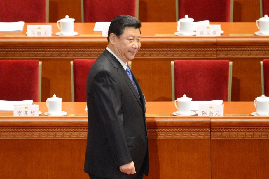 Le nouveau président chinois Xi Jinping.... (PHOTO GOH CHAI HIN, AFP)