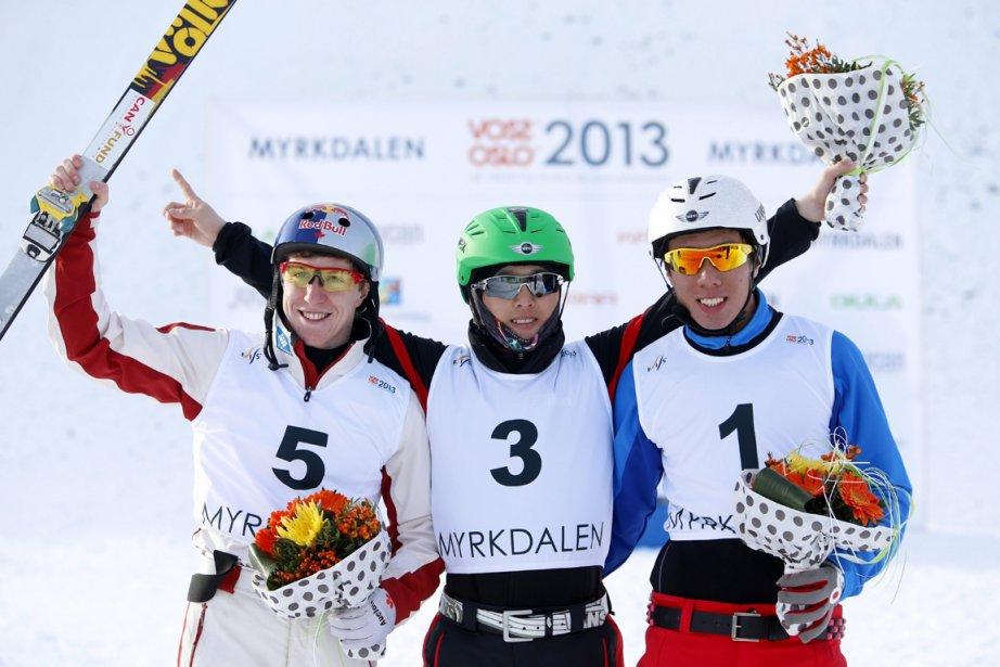 Le Canadien Travis Gerrits (à gauche) a pris... (Photo Hakon Mosvold Larsen, Reuters)