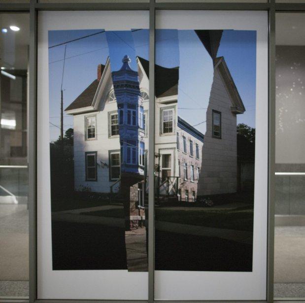 Ici et là en même temps de Tanya Morand (Photo: Andre Pichette, La Presse)