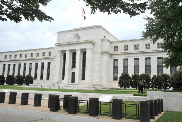 L'édifice de la Fed à Washington....