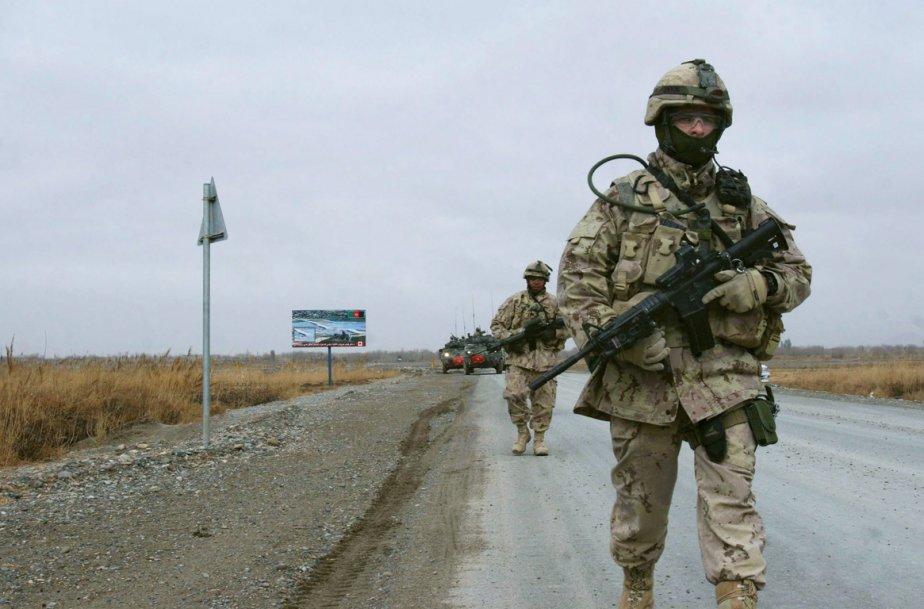 Le séjour prolongé de l'armée canadienne en... (Photo Allauddin Khan, AP)
