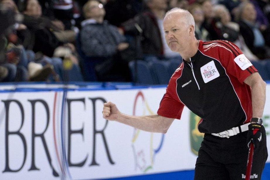 Glenn Howard... (Photo Jonathan Hayward, La Presse Canadienne)