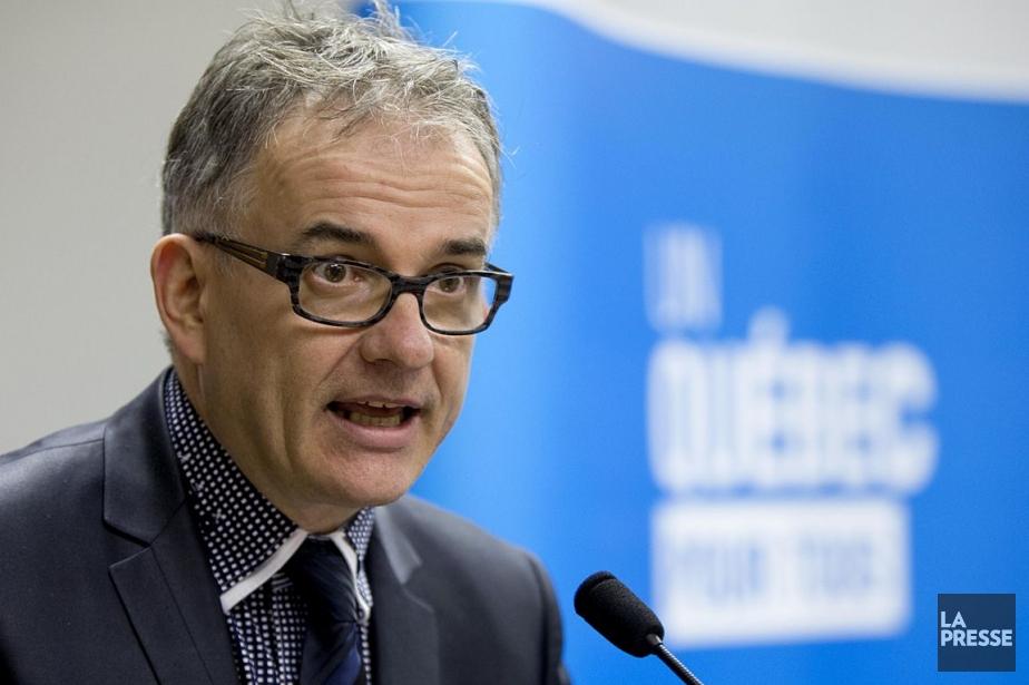 Le ministre de la Santé, Réjean Hébert.... (Photo Alain Roberge, archives La Presse)