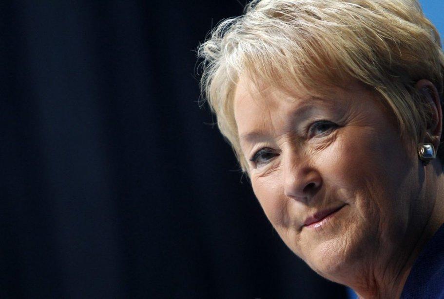 Pauline Marois a accordé une longue entrevue au... (Photo : Christinne Muschi, Reuters)