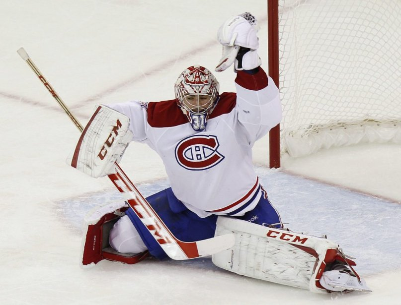Carey Price (Photo Ellen Ozier, Reuters)
