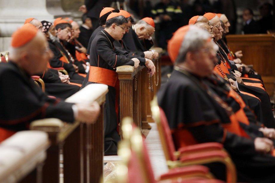 Selon l'expert John Allen, le conclave qui choisira... (PHOTO GREGORIO BORGIA, AP)