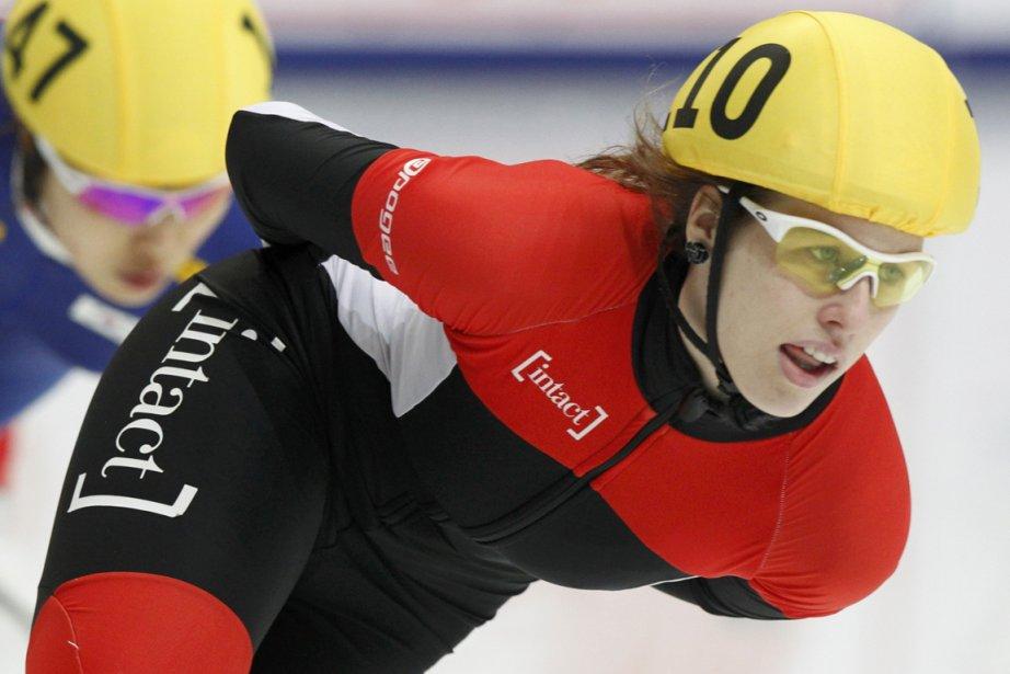 Marianne St-Gelais a mis du temps à se... (Photo Anton Golubev, Reuters)