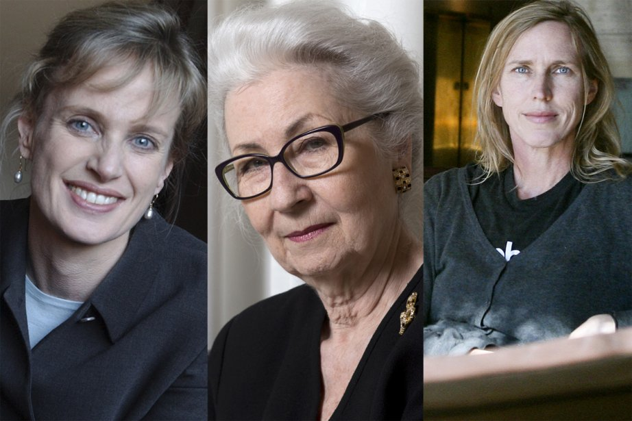 Siri Hustvedt, Nicolle Forget et Miriam Toews... (Photomontage La Presse)