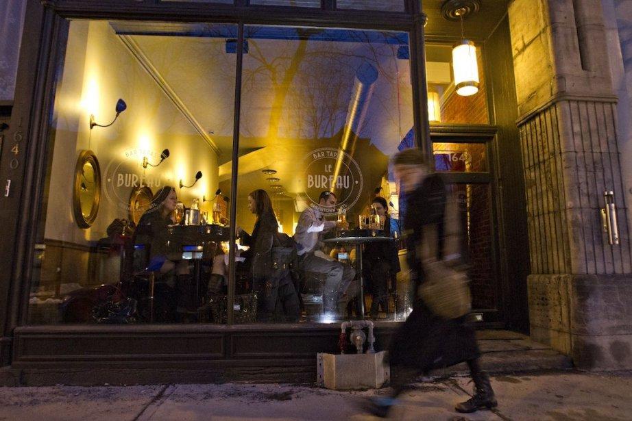 Le bureau bar tapas rue notre dame ouest montreal