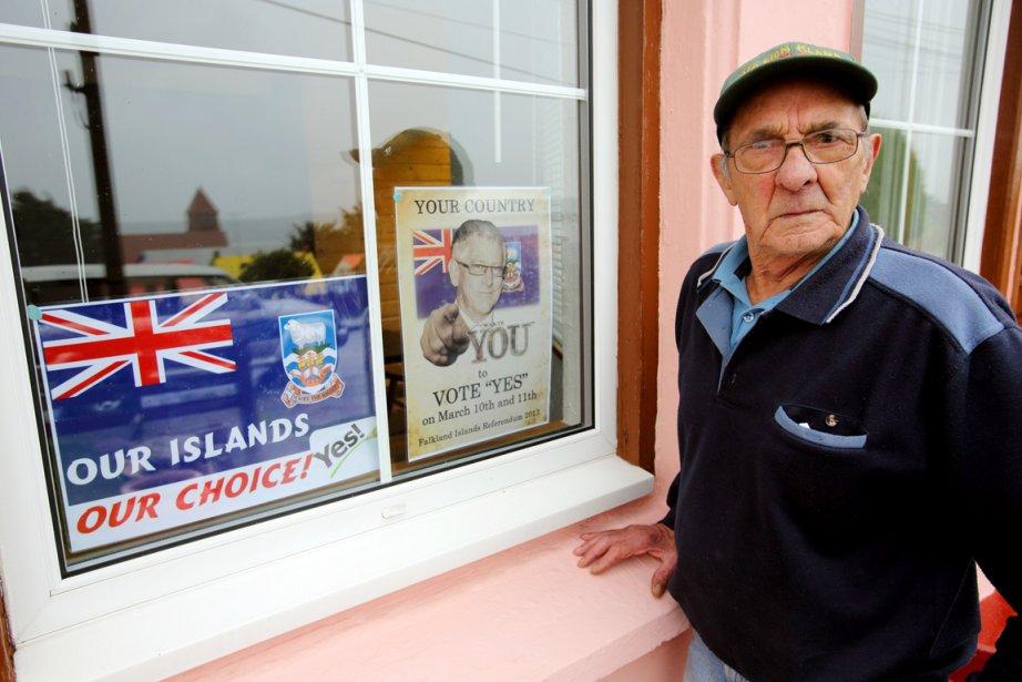 Les habitants des îles Malouines sont appelés dimanche... (PHOTO TONY CHATER, AFP)