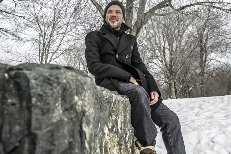 Pier-Luc Lasalle s'est inspiré de ses propres peurs... (Photo: Olivier Pontbriand, La Presse)