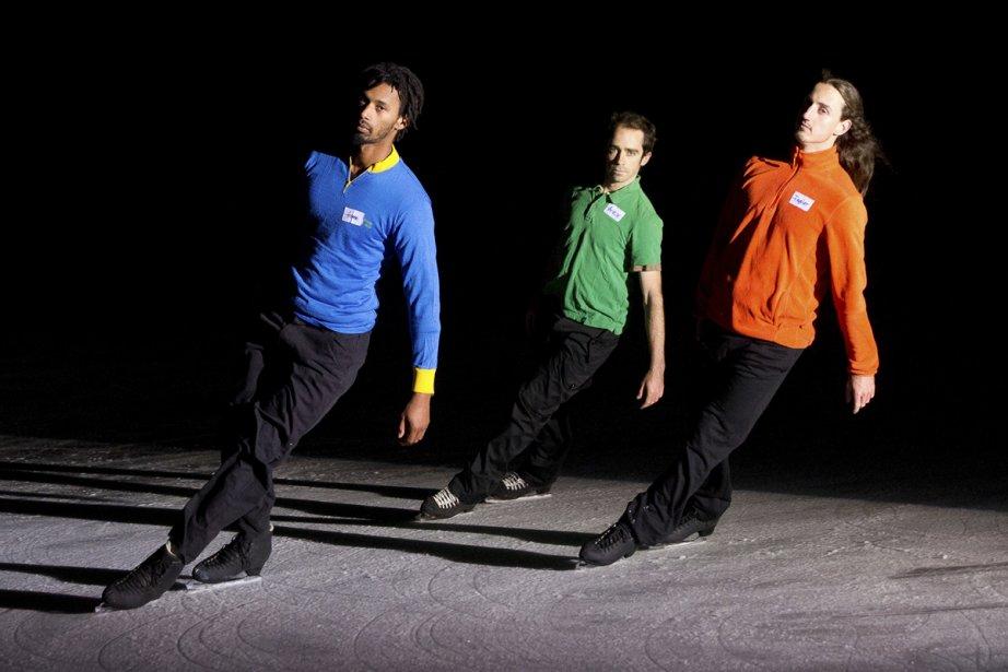 Samory Ba, Alexandre Hamel et Taylor Dilley se... (Photo: fournie par le collectif Le Patin libre)