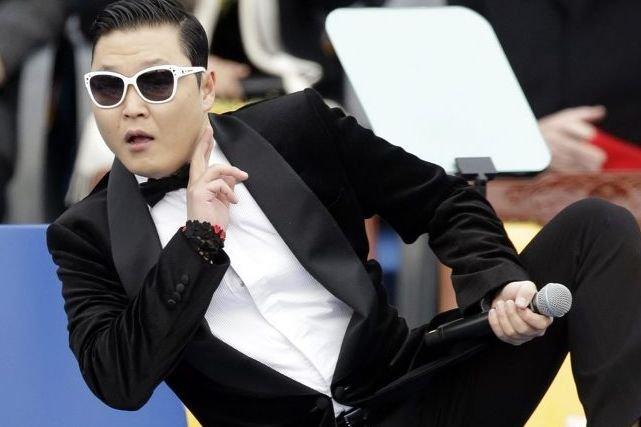 Le chanteur sud-coréen Psy... (Photo: AP)
