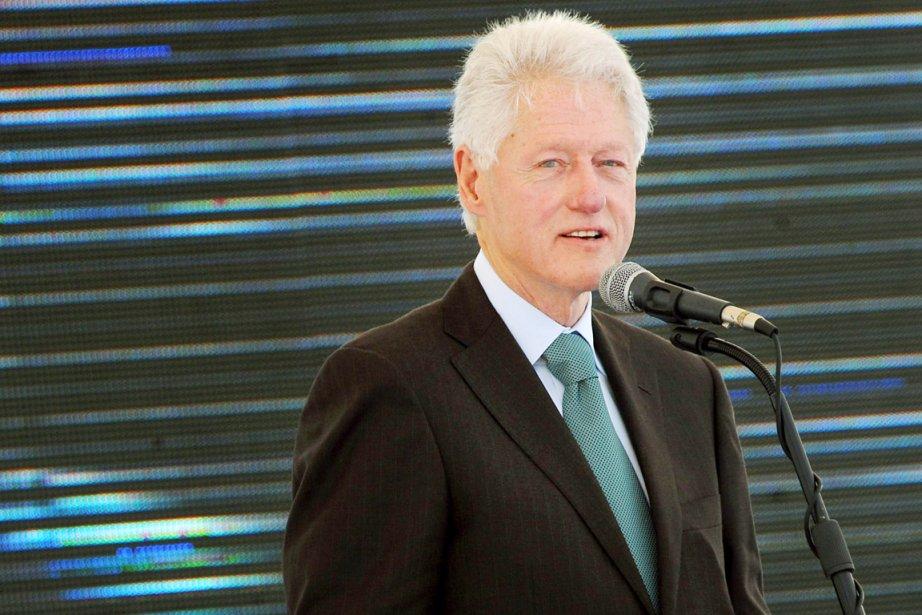 Le 42e président des États-Unis, Bill Clinton.... (PHOTO PIUS UTOMI EKPEI, AFP)