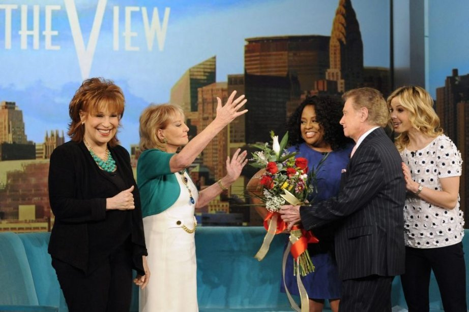 Joy Behar, Barbara Walters, Sherri Shepherd, Regis Philbin... (Photo: AP)