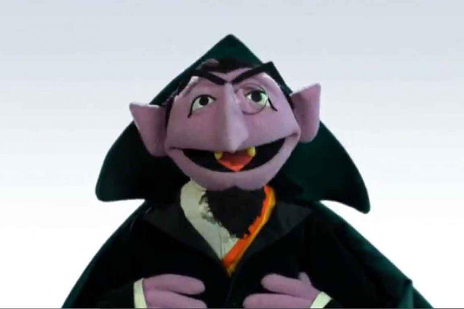 Le conte von Count, personnage de la populaire... (Photo tirée de la vidéo de Sesame Street)