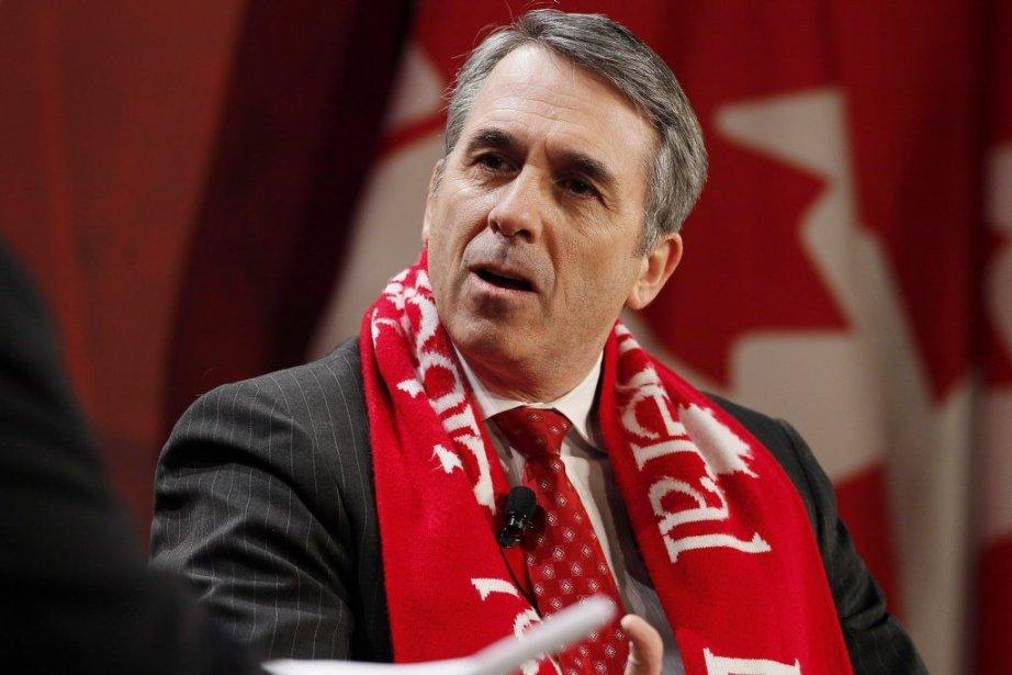 David Bertschi... (Photo John Woods, La Presse Canadienne)