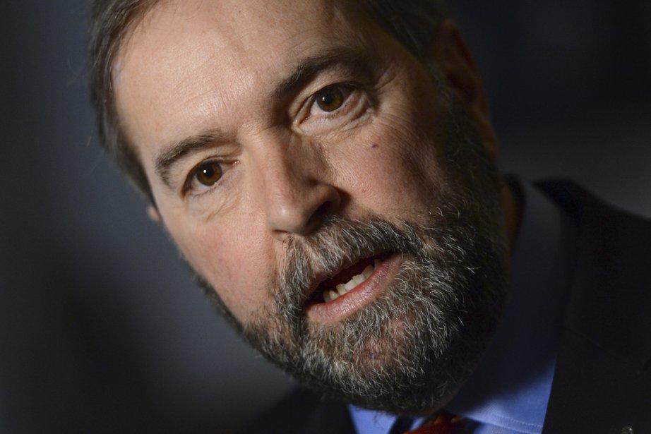 Le chef du NPD, Thomas Mulcair, fera une... (PHOTO SEAN KILPATRICK, ARCHIVES PC)
