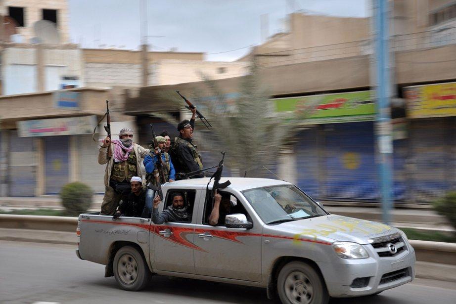 Lundi dernier, les rebelles ont annoncé avoir conquis... (Photo: AFP)