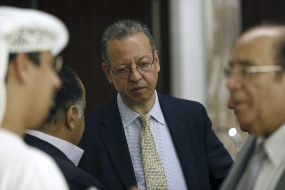 L'émissaire de l'ONU au Yémen Jamal Benomar a... (PHOTO KARIM SAHIB, AFP)