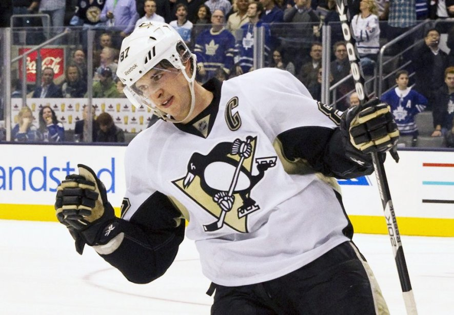 Sidney Crosby, des Penguins de Pittsburgh.... (Photo : Fred Thorhill, archives Reuters)