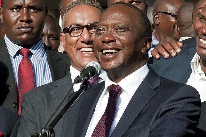 Uhuru Kenyatta... (Photo Jennifer Huxta, Agence France-Presse)