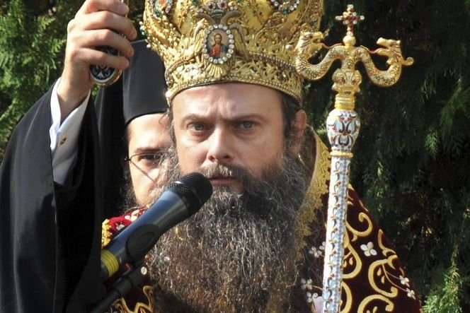 Le métropolite de Plovdiv, Nikolay (photo), critiqué par... (Photo Reuters)