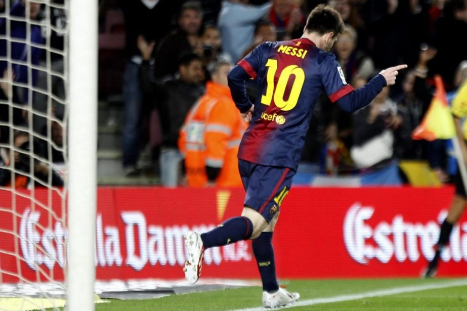 Lionel Messi... (Photo Gustau Nacarino, Reuters)