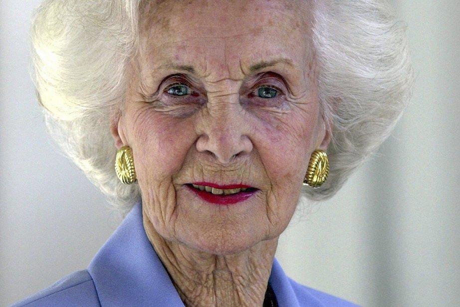 La princesse suédoise Lilian, photographiée en 2000.... (Photo: archives AFP)