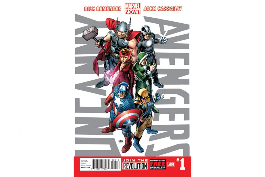 La couverture de la première parution deUncanny Avengers.... (PHOTO FOURNIE PAR MARVEL)