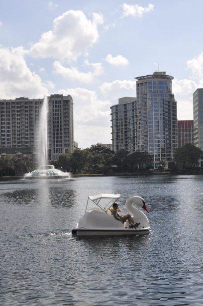 Au centre-ville d'Orlando. | 11 mars 2013