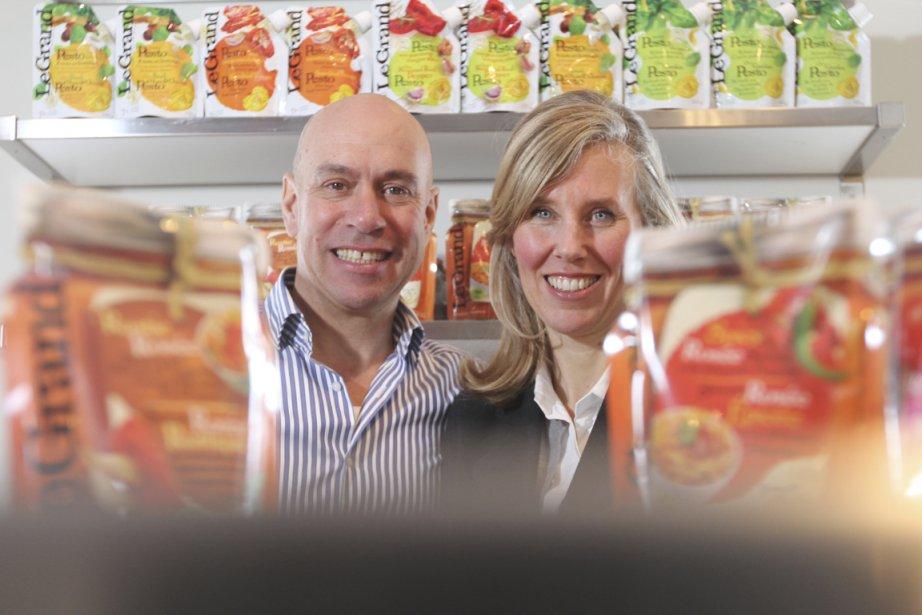 Bernard Le Grand et Tatiana Bossy, fondateurs et... (Photo Stéphane Champagne, collaboration spéciale)