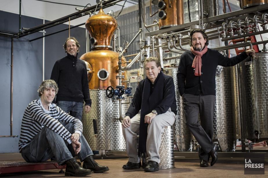 Le gin Piger Henricus est produit par Les... (Photo Édouard Plante-Fréchette, La Presse)