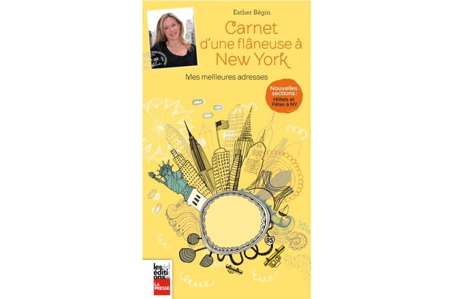 Le livre Carnet d'une flâneuse à New York, sorte de guide de voyage commenté...