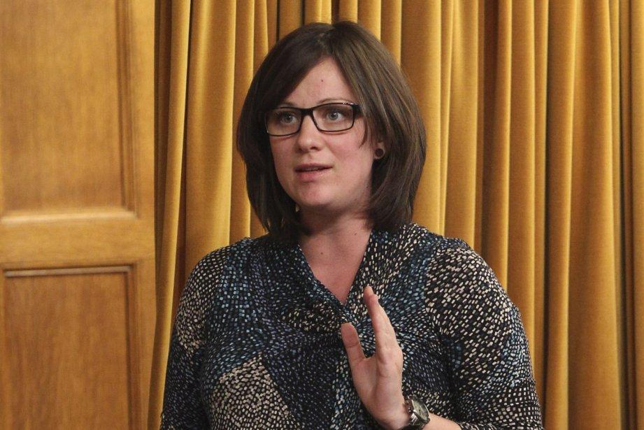 Rosane Doré Lefebvre... (PHOTO FOURNIE PAR LE NPD)