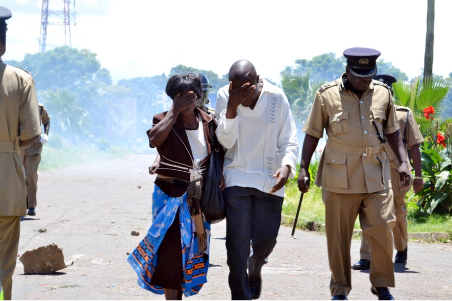 Ces arrestations ont provoqué la colère de 500... (PHOTO AFP)