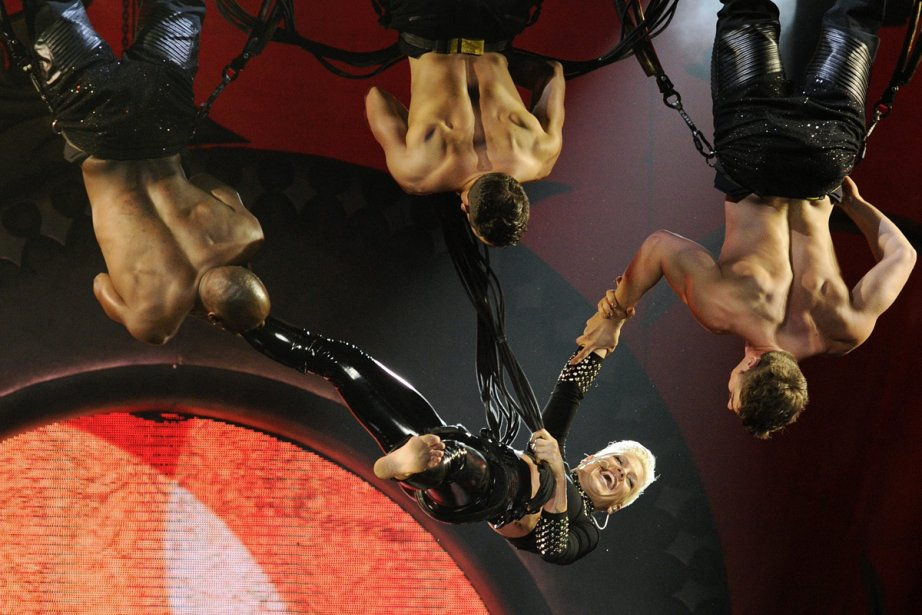 Alecia Beth Moore a remporté trois prix Grammy... (Photo: AP)