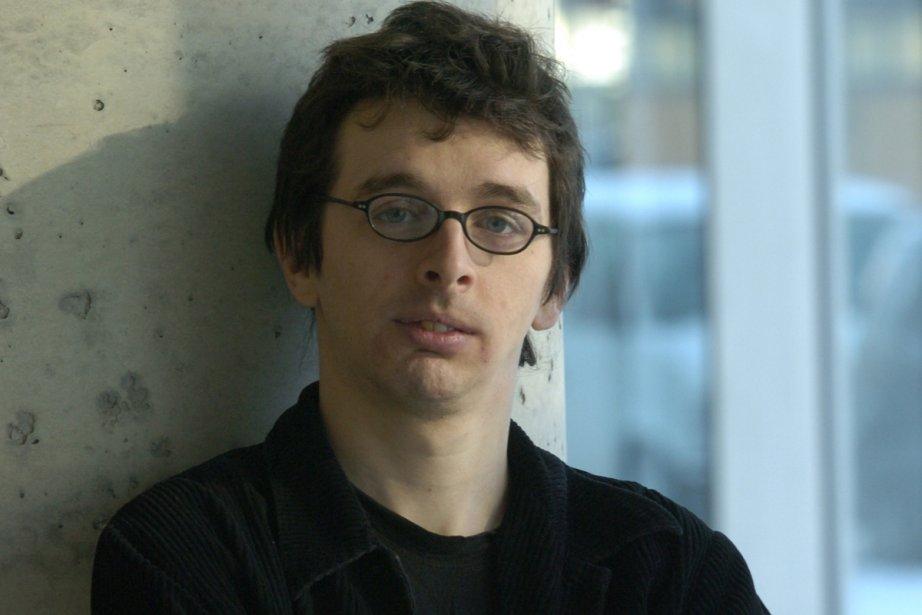 Mathieu Arsenault, un des organisateurs du festival littéraire... (Photo: Pierre McCann, archives La Presse)