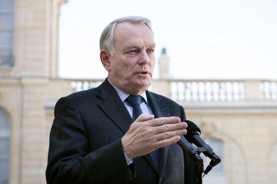 Le premier ministre de la France Jean-Marc Ayrault... (Photo Bertrand Langlois, AFP)