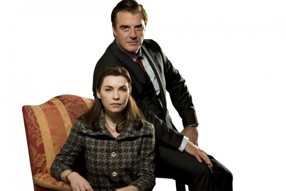 Julianna Margulies et Chris Noth dans The Good...