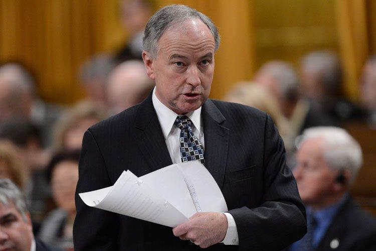 Le ministre de la Justice, Rob Nicholson.... (Photo: PC)