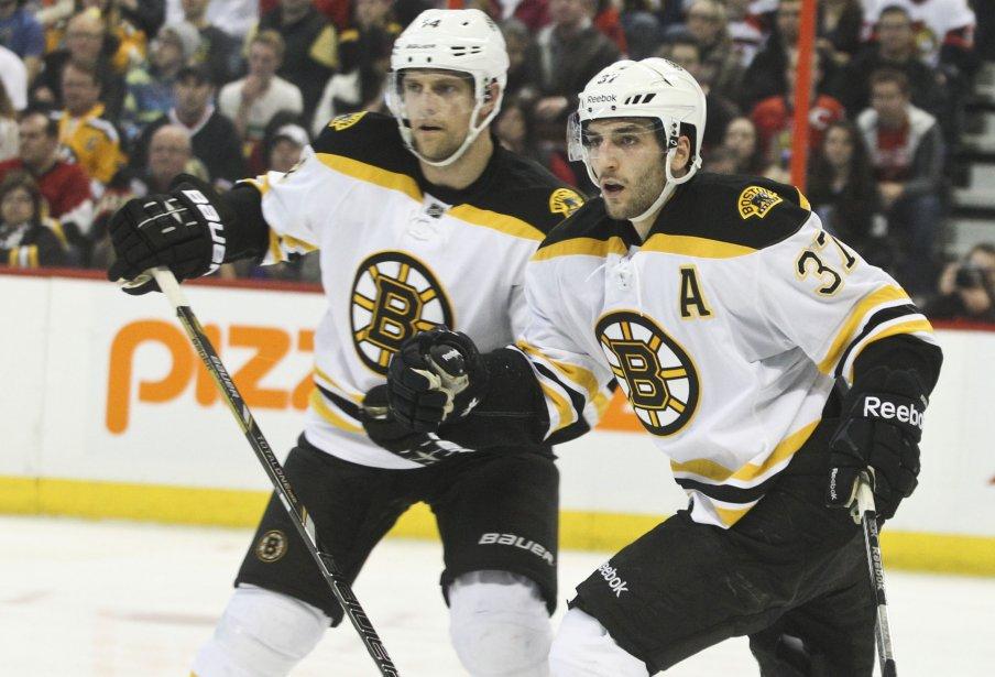 Patrice Bergeron des Bruins 3ème période | 11 mars 2013