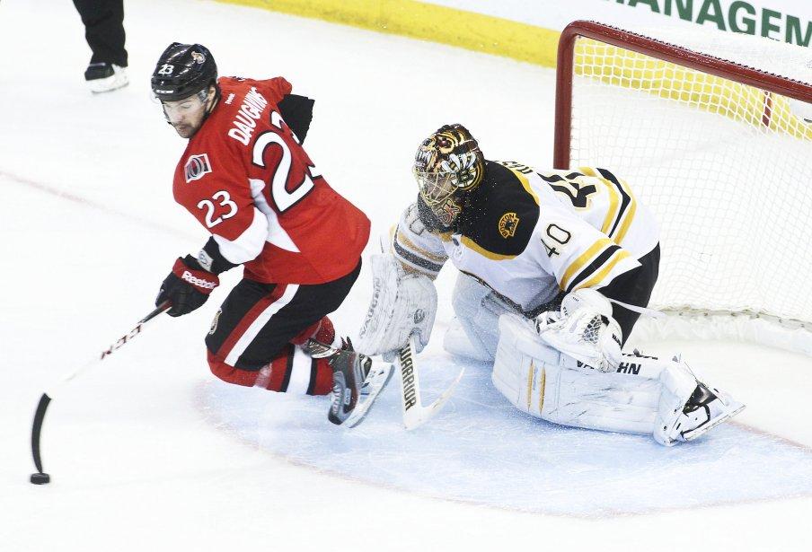 Malgré la bel effort de Kaspar Daugavins, les Sénateurs perdent 3-2 contre les Bruins en tir de barrage | 11 mars 2013