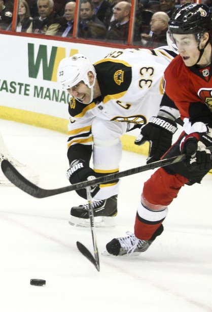 Défaite des Sénateurs 3-2 contre les Bruins en tir de barrage | 11 mars 2013