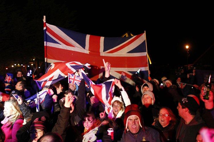 Un groupe de gens réuni dans la capitale... (Photo: Reuters)
