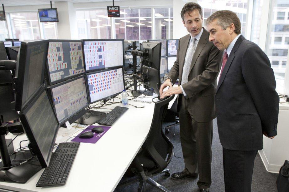 Richard Audet, nouveau directeur montréalais d'On Screen Trading... (Photo David Boily, La Presse)