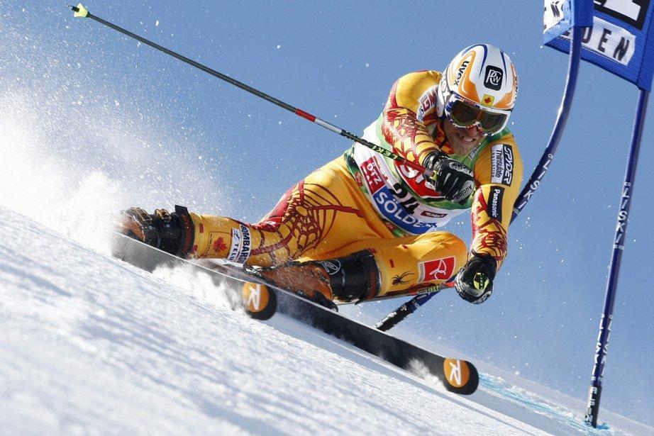 Jean-Philippe Roy a toujours été un skieur combatif.... (Photo Alessandro Trovati, AP)