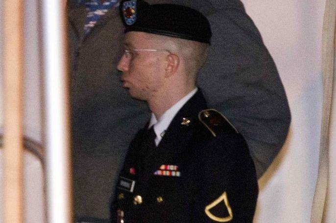 Bradley Manning... (PHOTO JOSE LUIS MAGANA, REUTERS)