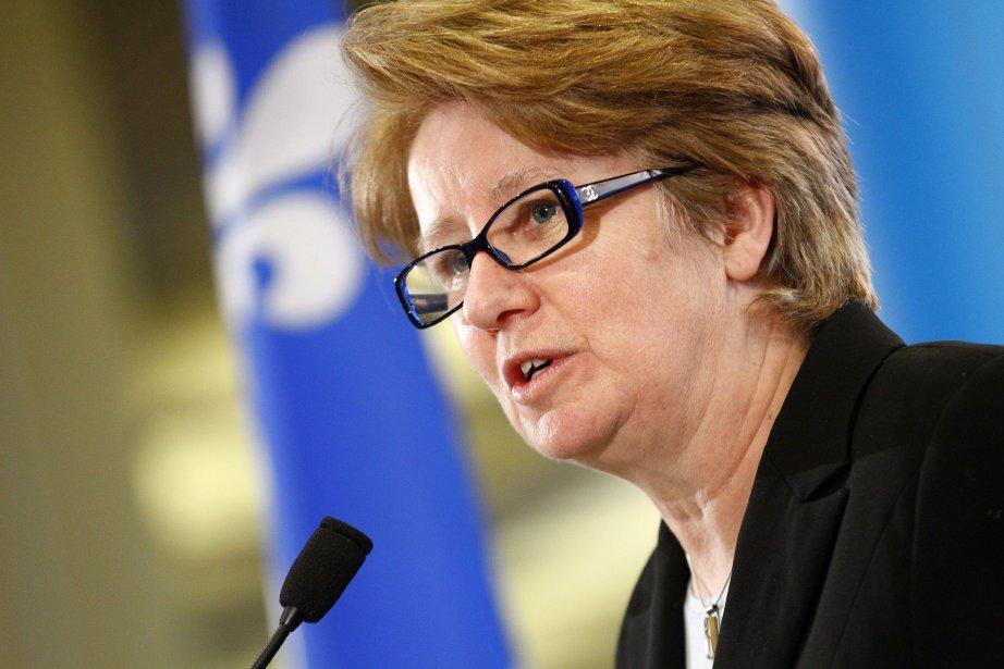 La ministre Agnès Maltais a annoncé qu'un maximum... (Photo Yan Doublet, Le Soleil)