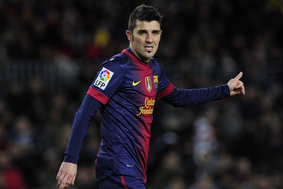 David Villa... (Photo Josep Lago, AFP)